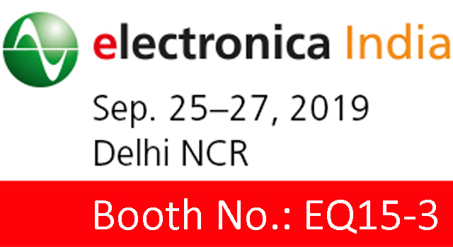 Honger to Exhibit at electronica 2019 in Greater Noida, India
