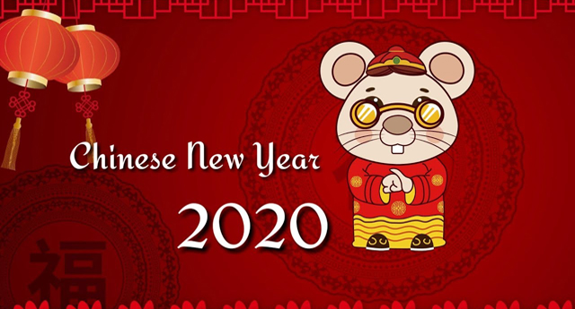 Holiday Notice for Chinese New Year 2020